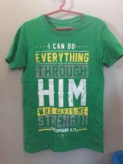 Philippians 4:13 Statement Shirt