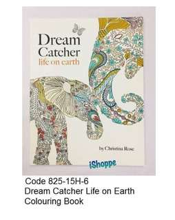 Dream Catcher Life on Earth Colouring Book