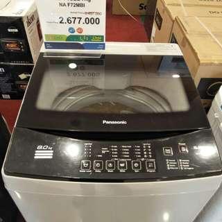 Mesin Cuci Panasonic 7 KG cicil tanpa dp hanya admin 199rb proses 3mnt
