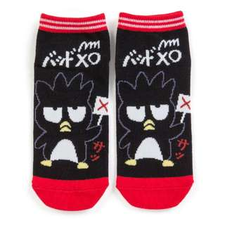 Japan Sanrio Bad Badtz Maru Sneaker Socks (bats)