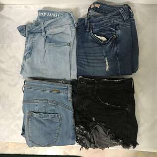 SELLING OFF MY JEANS 👖