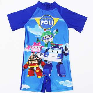 3 for $30 Robocar poli swimwear(preorder)