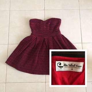Unshoulder Knit Dress