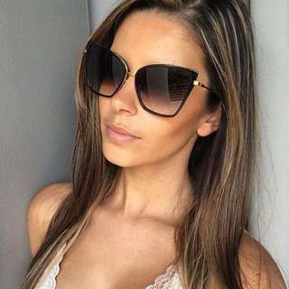 Square Shaped Cat Eye Sunglasses
