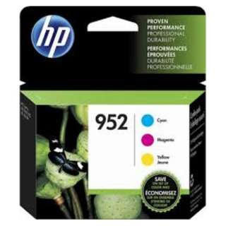 HP - 952 Combo Pack 3-pack Ink Cartridges