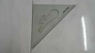 Triangle Rulers 2pcs