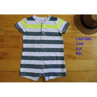 Carters Romper Infant Baby Toddler Clothes 24M