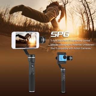 Feiyu SPG 3 Axis Gimbal Splash-Proof Handheld Stabiliser For Smartphone iPhone Samsung GoPro Hero 6 5 4