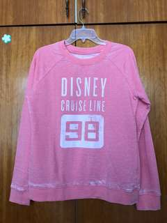 Peach light weight Disney sweater