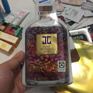 Kbeauty: JayJun Purple Fragrance Mask