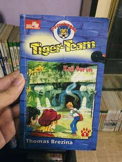 Petualangan Tiger Team Kuil Guruh by Thomas Brezina