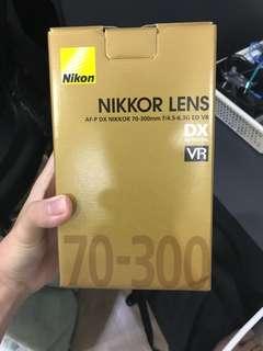 Nikon DSLR Lens 70/300mm
