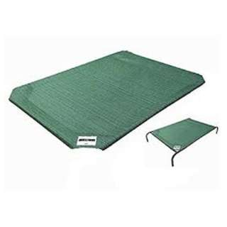 Coolaroo Dog Bed Replacement Mat - Green, Large