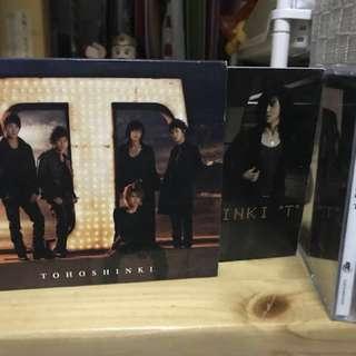 (絕版)東方神起《T》CD+DVD