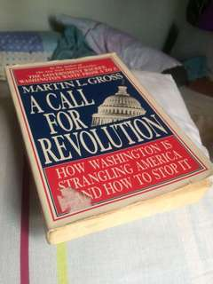 A Call For Revolution by Martin Gross