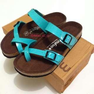My feet sandal size 38 sky blue