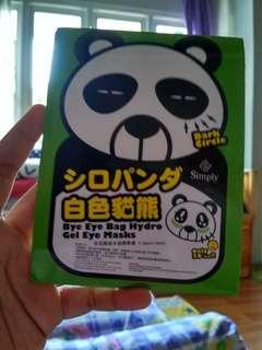 Simply Bye Eye Bag Hydro Gel Eye Mask
