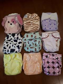 Cloth Diapers (used)