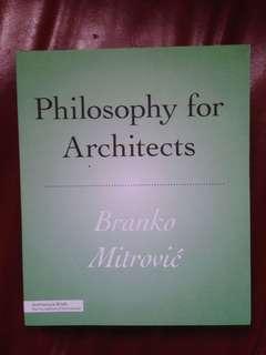 Books on Film, Media Architecture Studies