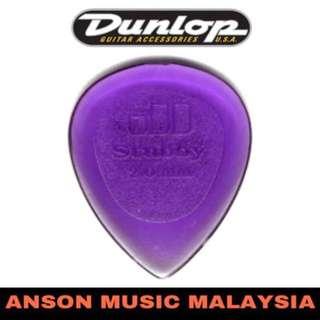 Jim Dunlop 474B2.0 Stubby Guitar Pick