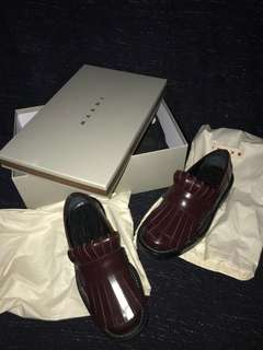 Never Been Worn #MARNI (AUTHENTIC) - MARNI FRINGE LOAFER