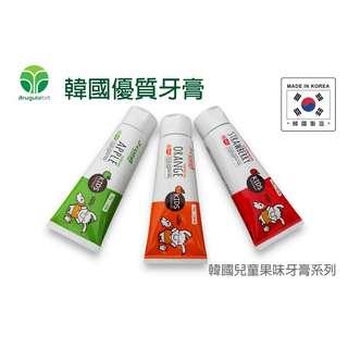 韓國入口 J-COZIA 兒童果味牙膏 Made in Korea