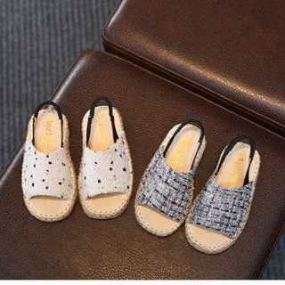 Hari Raya Special!!  Kids / Toddle Soft Leather Sandal / Capal