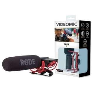 🚚 Rode VideoMic Rycote Compact Directional On-camera Microphone (with Rycote Lyre Suspension Mount)
