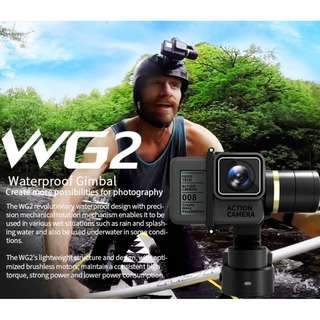 Feiyu WG2 3-Axis Wearable Waterproof Gimbal for GoPro Hero 6 5 4 Session & Similar Cameras