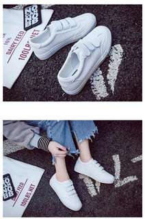 Brand new white shoes sneakers