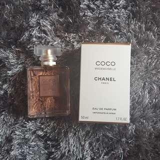 Coco chanel mademoiselle perfume 50ml
