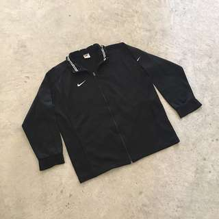 NIKE 90S TAG EMBROIDERED JERSEY TRACK JACKET