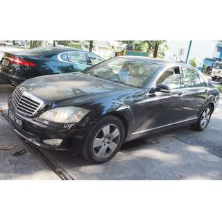 MERCEDES MB W221 S300L 2008 MODEL PARTS FOR SALE(07104)