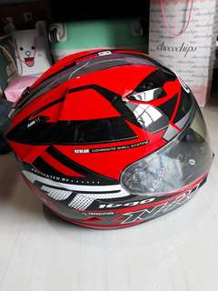 Helm NHK GP1000 Double Visor.
