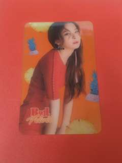 Red Velvet Seulgi Transparent Card