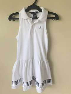 Preloved Ralph Lauren white dress