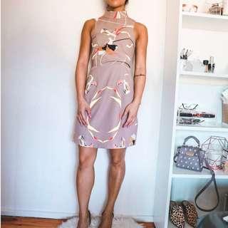 Shilla the Label Superior Print Mini Dress XS RRP $159.95