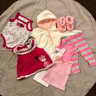 Baby Girl Bundle 3-6 months