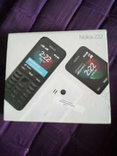 Nokia 222 ex hadiah full set