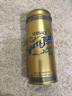 Vintage Versace Gold Tin