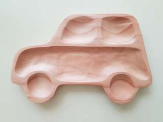 New Petits Et Maman Kids Wooden Plate Car