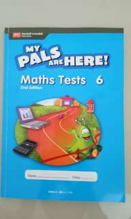 My pals Math Tests 6 utk primary 6
