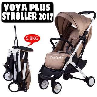 Yoya Plus Baby Lightweight Stroller 5.8kg [2018 Version]