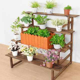 4 Step Plant Stand - 80cm long