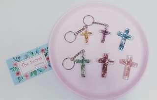 Jesus福音系列 十字架匙扣