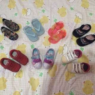 Shoes and sandals for 1-2 yrs old
