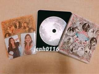 少女時代 The boys 韓版 CD (小卡 Jessica/秀英)