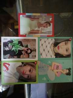 TWICE what is love photo card