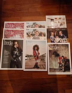 Set of 7 Little, Baby and Me Parenting Magazines