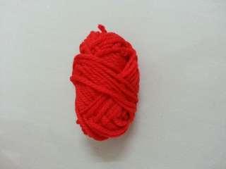 Red Knitting Wool